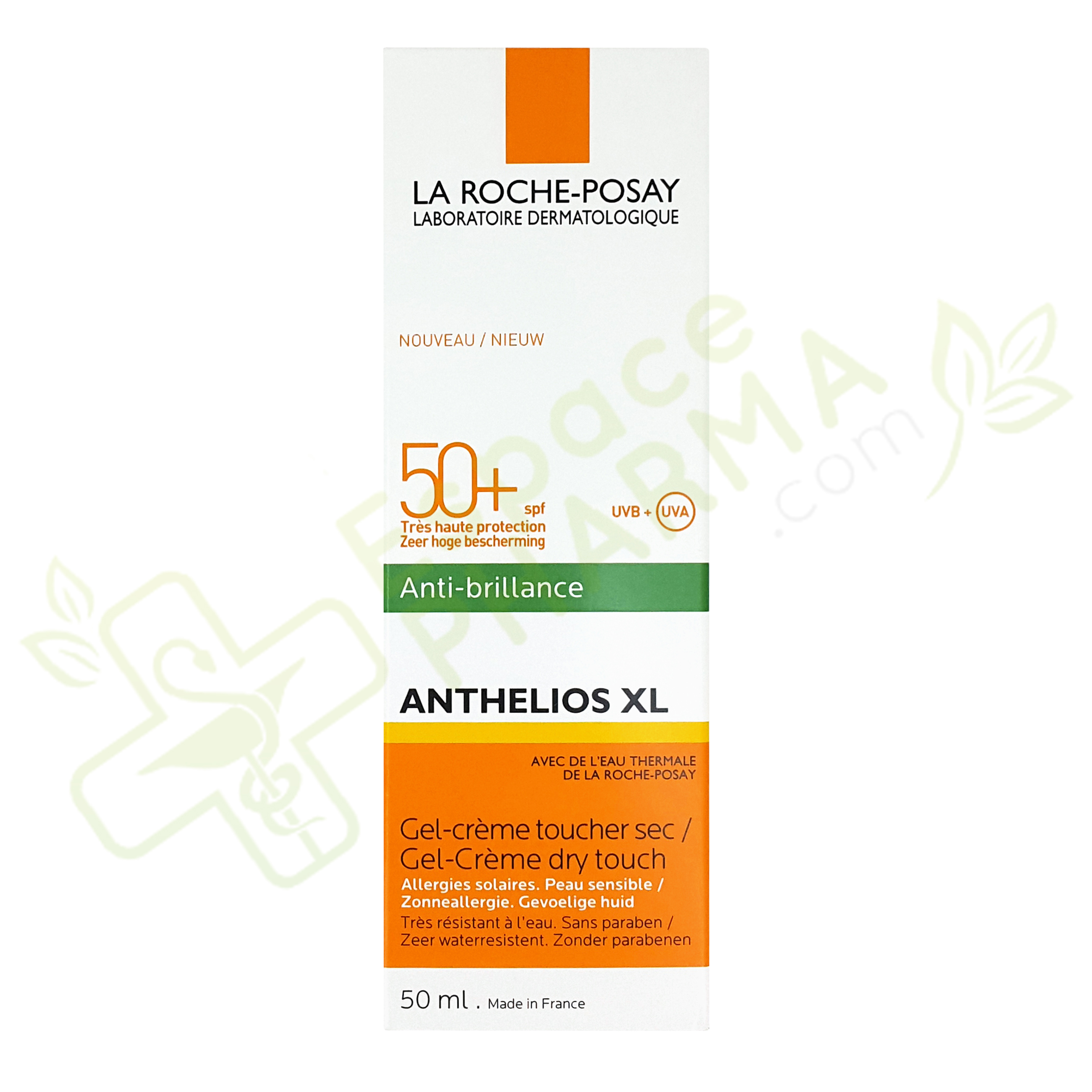 gel cr me spf 50 anthelios xl la roche posay de 50 ml. Black Bedroom Furniture Sets. Home Design Ideas