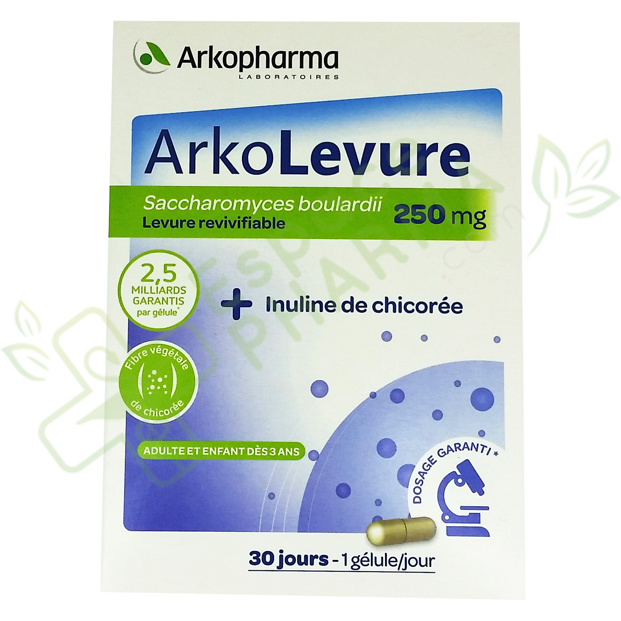 arkolevure 250 mg 30 g lules arkopharma. Black Bedroom Furniture Sets. Home Design Ideas
